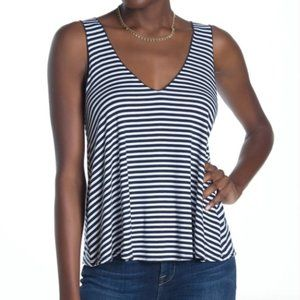 Abound- Double V-Neck Swing Tank Top